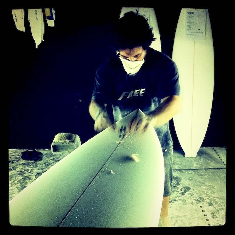 Facciosnao Surf House Hoosegor Roberto d'Amico Superbrand Nuno Matta Shaper