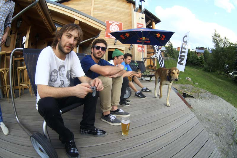 Facciosnao Camp Les 2 Alpes FIAT Freestyle Week 2011