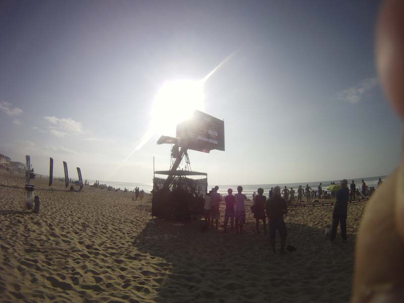 Facciosnao Surf House al Quiksilver Pro France a Hossegor
