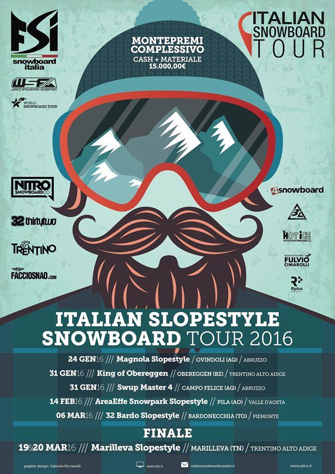 ITALIAN SNOWBOARD TOUR